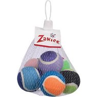 Zanies Tennis Minis Dog Toy, 6-pack