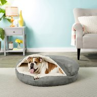 Snoozer Pet Products Luxury Cozy Cave Covered Cat & Dog Bed w/Removable Cover