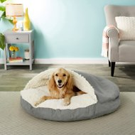 Snoozer Pet Products Luxury Microsuede Cozy Cave Dog & Cat Bed
