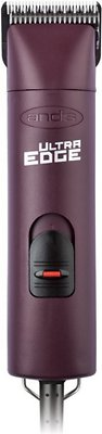 Andis AGC2 UltraEdge 2-Speed Detachable Blade Dog & Cat Clipper, Burgundy