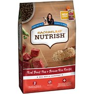 Rachael Ray Nutrish Natural Beef, Pea, & Brown Rice Recipe Dry Dog Food, 40-lb bag