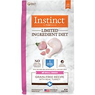 Instinct by Nature's Variety Limited Ingredient Small Breed Grain-Free Turkey Recipe Dry Dog Food, 4-lb bag