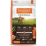 Instinct by Nature's Variety Original Grain-Free Recipe with Real Salmon Dry Cat Food, 10-lb bag