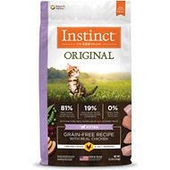 Instinct by Nature's Variety Original Kitten Grain-Free Recipe with Real Chicken Dry Cat Food, 4.5-lb bag