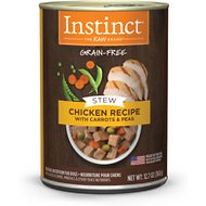 Instinct by Nature's Variety Grain-Free Stews Chicken Recipe Wet Canned Dog Food, 12.7-oz, case of 6
