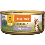 Instinct by Nature's Variety Kitten Grain-Free Real Chicken Recipe Natural Wet Canned Cat Food, 5.5-oz, case of 12