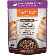 Instinct by Nature's Variety Healthy Cravings Grain-Free Rabbit Recipe Wet Cat Food Topper