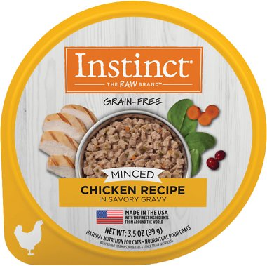 Instinct By Natures Variety Grain Free Minced Recipe With Real