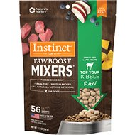 Instinct by Nature's Variety Raw Boost Mixers Grain-Free Grass-Fed Lamb Recipe Freeze-Dried Dog Food Topper, 12.5-oz bag