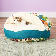 Snoozer Pet Products Indoor/Outdoor Cozy Cave Dog & Cat Bed, Small, Lensing Jungle