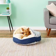 Snoozer Pet Products Orthopedic Indoor/Outdoor Cozy Cave Dog & Cat Bed, Small, Nessa
