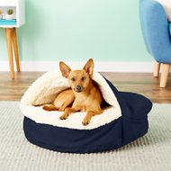 Snoozer Pet Products Orthopedic Cozy Cave Dog & Cat Bed, Small, Navy