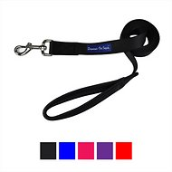 Downtown Pet Supply Dog Leash, Black, 2-ft, 3/4 in