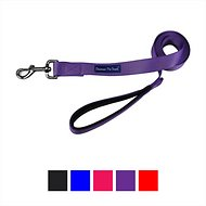 Downtown Pet Supply Dog Leash, Purple, 2-ft, 3/4 in