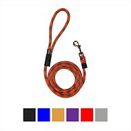 Downtown Pet Supply Rope Dog Leash, Red, 3-ft
