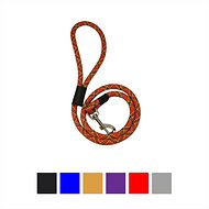 Downtown Pet Supply Rope Dog Leash, Red, 6-ft