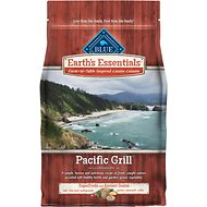 Blue Buffalo Earth's Essentials Pacific Grill Salmon & Lentil Ancient Grains Recipe Dry Dog Food, 4-lb bag