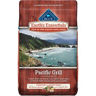 Blue Buffalo Earth's Essentials Pacific Grill Salmon & Lentil Ancient Grains Recipe Dry Dog Food, 22-lb bag