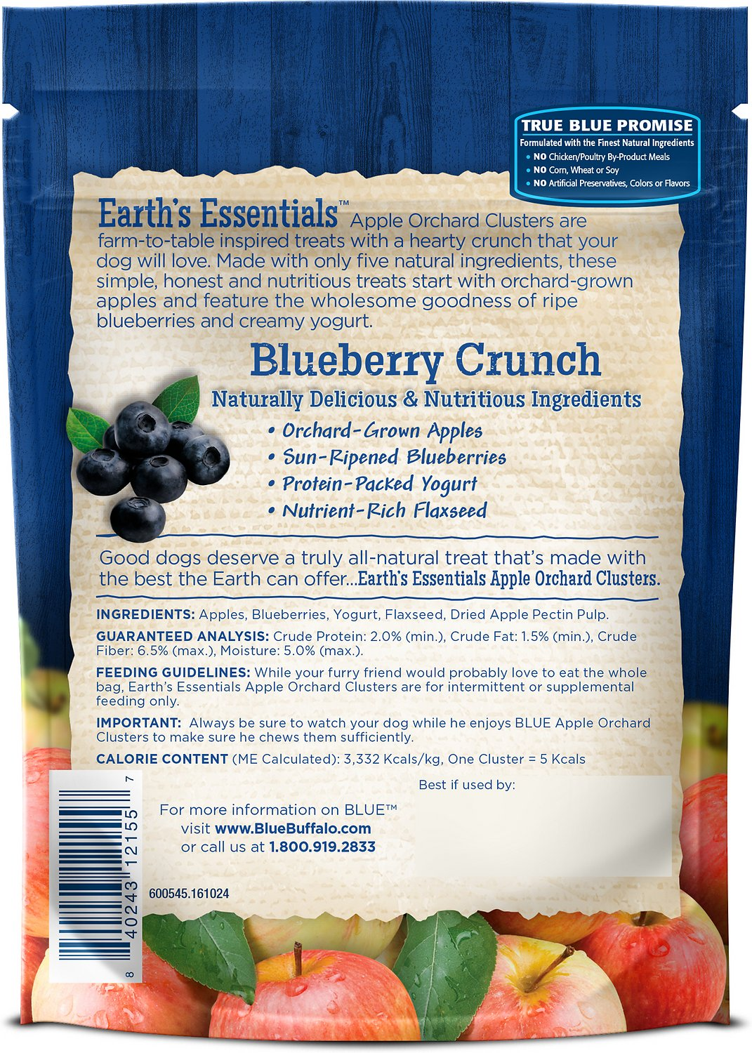Blue Buffalo Canned Dog Food Nutrition Facts