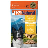 K9 Natural Chicken Feast Raw Grain-Free Freeze-Dried Dog Food Topper, 3.5-oz bag