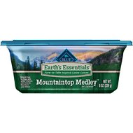 Blue Buffalo Earth's Essentials Mountaintop Medley Lamb & Barley in Gravy Recipe Dog Food Trays, 8-oz, case of 8