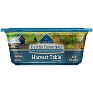 Blue Buffalo Earth's Essentials Harvest Table Chicken & Quinoa in Gravy Recipe Dog Food Trays, 8-oz, case of 8