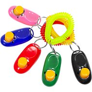 Downtown Pet Supply Training Dog Clickers, Color Varies, 12 pack