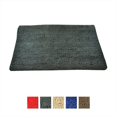 My Doggy Place Microfiber Dog Doormat Charcoal Large Chewy Com