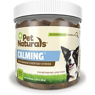 Pet Naturals of Vermont Calming Dog Chews for Medium & Large Dogs, 30 count