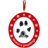 Pearhead Pawprints Photo Double-Sided Dog & Cat Ornament