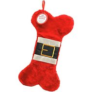 Pearhead Dog & Cat Christmas Stocking, Red