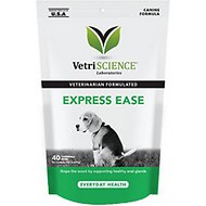 VetriScience Express Ease Anal Gland and Digestive Support Bar, 40 count