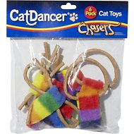 Cat Dancer Chasers Variety Pack Cat Toys, 6 count
