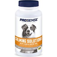 Pro-Sense Anti-Stress Dog Calming Tablets, 60-count