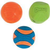 Chuckit! Fetch Ball Medley 2 Triple Pack Ball Dog Toy, Medium