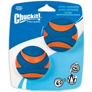 Chuckit! Ultra Squeaker Ball, Medium, 2 count