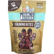 Howl's Kitchen Training Bites Beef Flavor Dog Treats, 12-oz