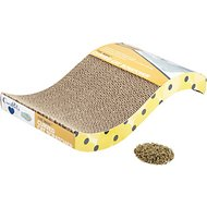 OurPets The Wave Curved Cat Scratcher