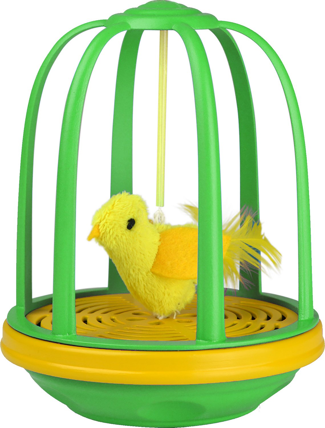 Cat Toy Fish Game : Pet zone caged canary interactive cat toy chewy
