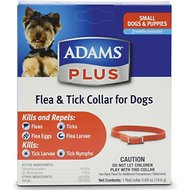 Adams Plus Flea & Tick Collar for Small Dogs, 15-inch