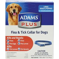 Adams Plus Flea & Tick Collar for Large Dogs, 26-in