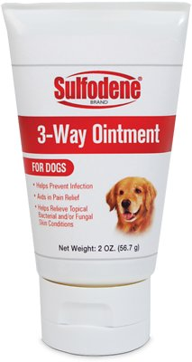 Sulfodene 3-Way Ointment for Dogs, 2-oz