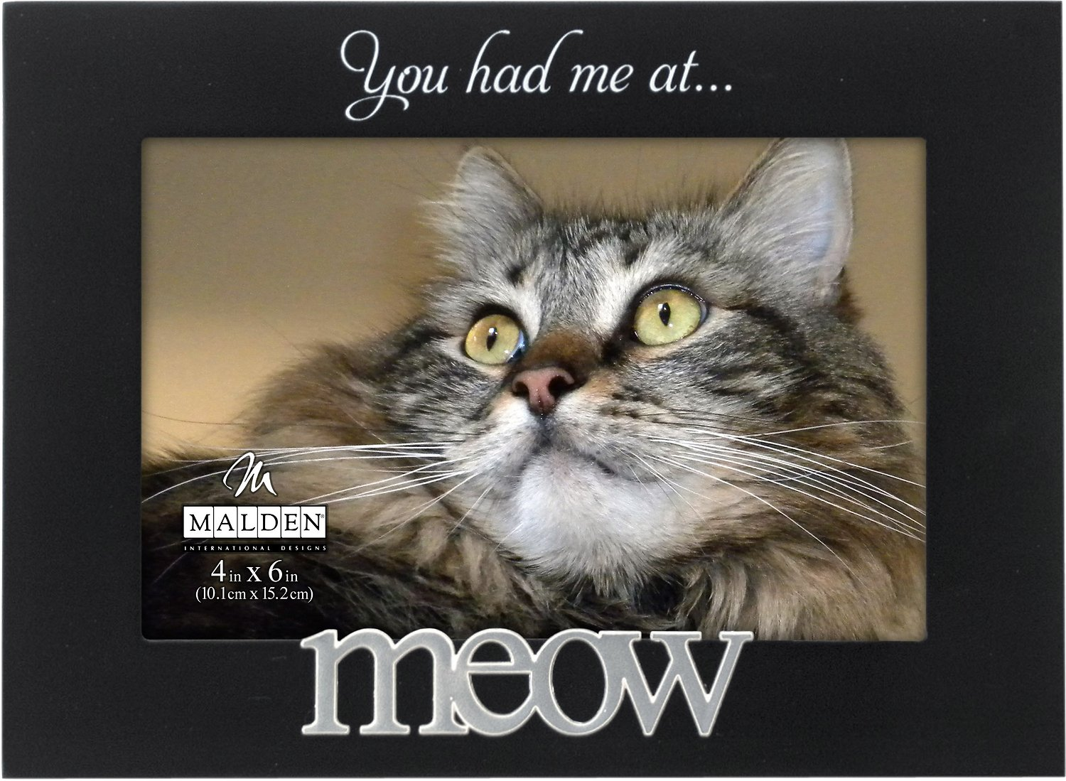Malden International Designs You Had Me At Meow Cat Picture Frame