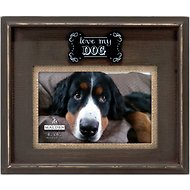 "Malden International Designs ""Love My Dog"" Dog Picture Frame, 4 x 6 in"