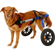 HandicappedPets Medium 51-69 lbs Dog Wheelchair, Blue, 17-20 in