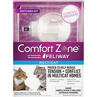 Comfort Zone with Feliway Multicat Diffuser Kit, 48-ml