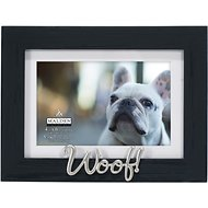 "Malden International Designs Matted ""Woof!"" Dog Picture Frame, 4 x 6 in"