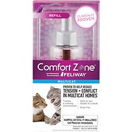 Comfort Zone with Feliway Multicat Diffuser Refill, 48-ml, 1 count