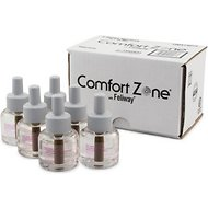 Comfort Zone with Feliway Cat Diffuser Refill, 48-mL, 6 count
