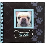 "Malden International Designs ""Woof"" Dog Photo Album, 4 x 6 inches"